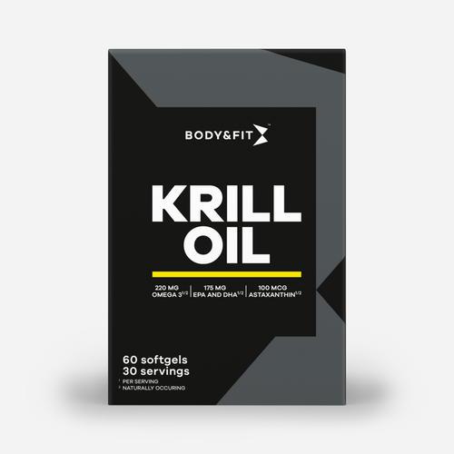 Pure Krill Oil - Body & Fit - 60 Kapslar