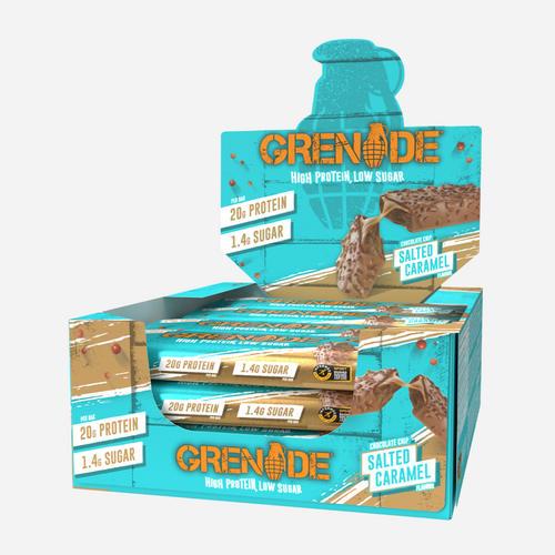 Carb Killa Bar - Grenade - Chocolate Salted Caramel - 720 Gram (12)
