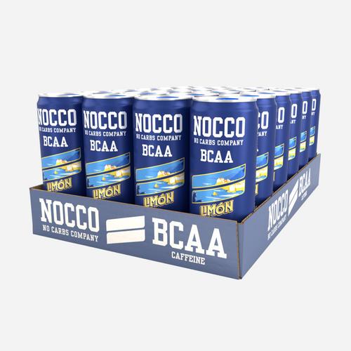 Nocco BCAA Drink - Nocco - No Carbs Company - Citron - 12 Enheter (3960 Ml)