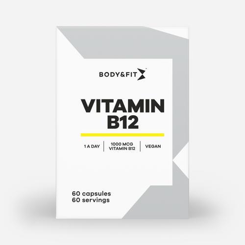 Vitamin B12 - Body & Fit - 60 Kapslar (2 Månader)