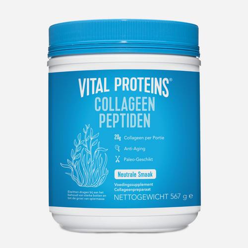 Collagen Peptides - Vital Proteins - Naturlig (ingen Smaksättning) - 567 Gram (28 Doser)