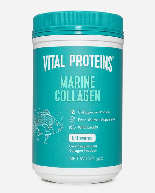 Marine Collagen - Vital Proteins - Naturlig (ingen Smaksättning) - 221 Gram (18 Doser)
