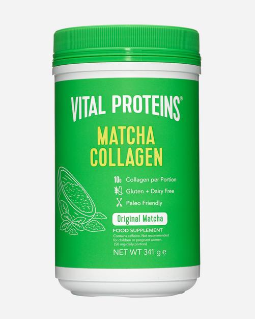 Matcha Collagen - Vital Proteins - Matcha - 341 Gram (24 Doser)