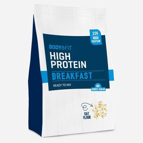 High Protein Breakfast - Body & Fit - Banan - 1980 Gram (36 Shakes)