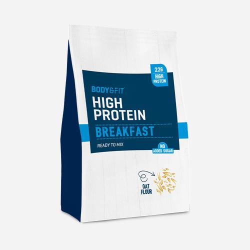 High Protein Breakfast - Body & Fit - Vanilj - 990 Gram (18 Shakes)