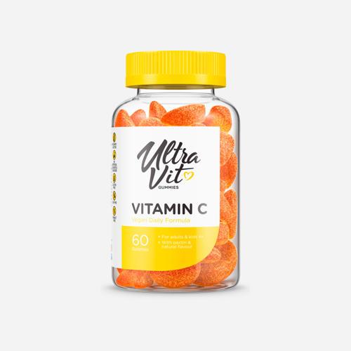 Gummies Vitamin C - 60 gummies - Ultravit - Orange - 60 Tuggtabletter