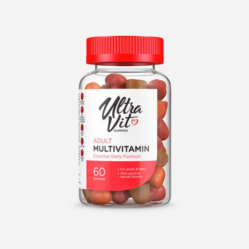UltraVit Gummies Adult Multivitamin - 60 gummies - Ultravit - 60 Tuggtabletter (20 Doser)