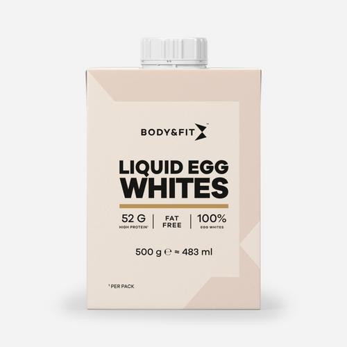 B&F flytande äggvitor - Body & Fit - Liquid Egg Whites - 1 Piece (500 Gram)