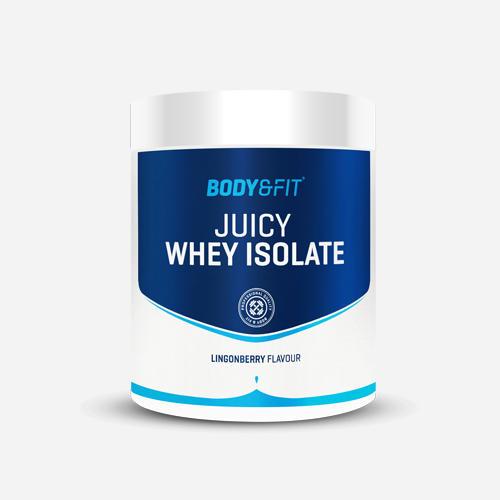 Juicy vassleisolat - Body & Fit - Lingonberry - 540 Gram (20 Shakes)