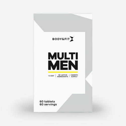Multi Men - Body & Fit - 60 Tabletter (2 Månader)