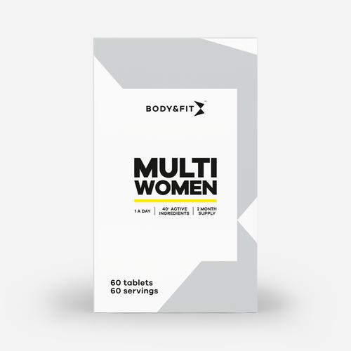 Multi Women - Body & Fit - 60 Tabletter (2 Månadsförpackning)