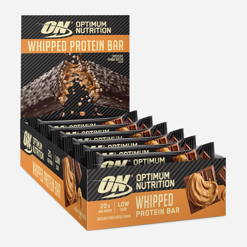 Whipped Protein Bar - Optimum Nutrition - Chocolate Peanut Butter - 10 Bars