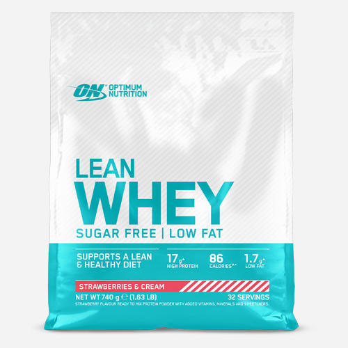Lean Whey - Optimum Nutrition - Strawberry - 740 Gram (32 Shakes)