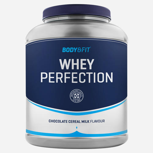 Whey Perfection - Body & Fit - *new* Chocolate Cereal Milk - 2268 Gram (81 Shakes)