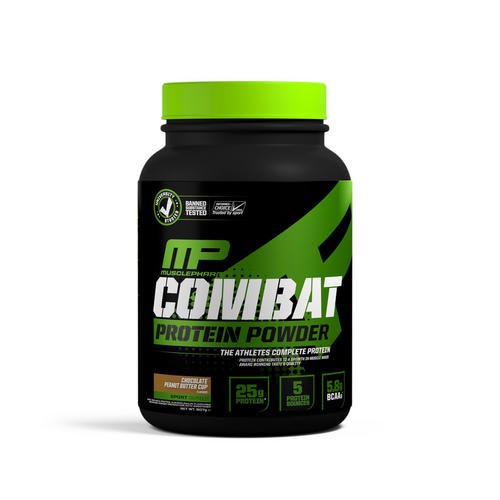 Combat Sport Protein - Musclepharm - Chocolate Peanut Butter Cup - 907 Gram (27 Shakes)