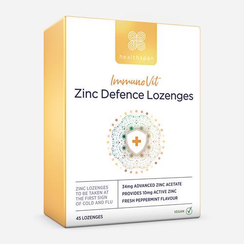 ImmunoVit Zinc Defence Lozenges - Healthspan - 45 Pastill