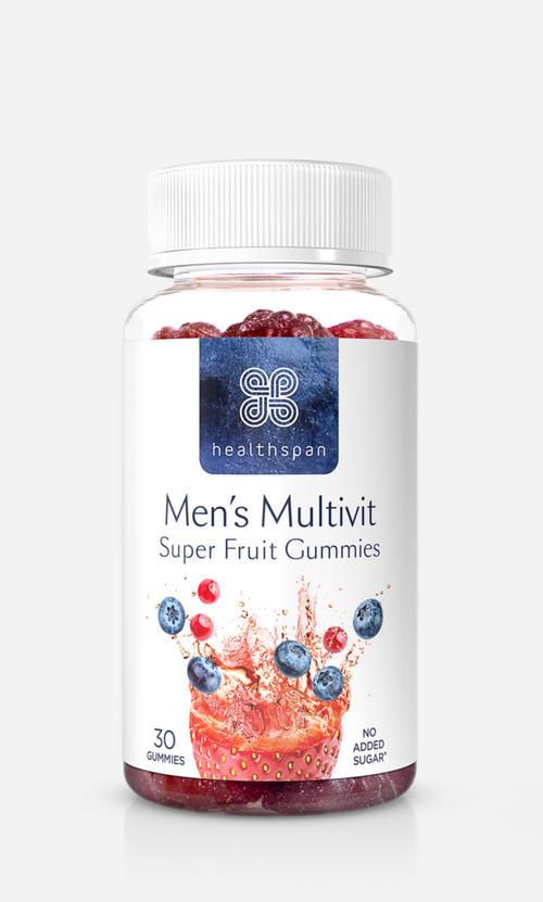 Healthspan Men's MultiVitality® Super Fruit Gummies - Healthspan - 30 Piece (30 Doser)