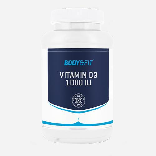 Vitamin D3 - 1000IU - Body & Fit - 180 Kapslar