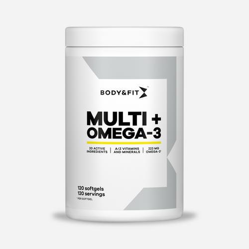 Total Health - Body & Fit - 120 Mjuka Gelégummin (120 Tabletter Och Kapslar)