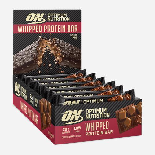Whipped Protein Bar - Optimum Nutrition - Chocolate Caramel - 10 Bars
