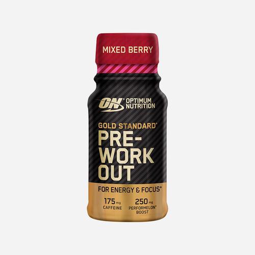 Gold Standard Preworkout Shot - Optimum Nutrition - Mixedberry - 1 Piece (60 Ml)