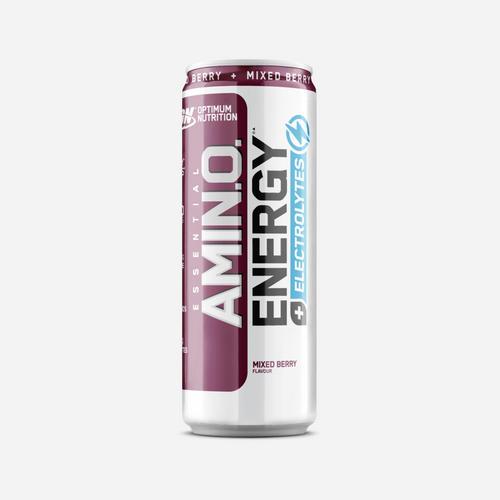 Amino NRG + Electrolytes RTD - Optimum Nutrition - Mix Berry - 1 Enhet (250 Ml)