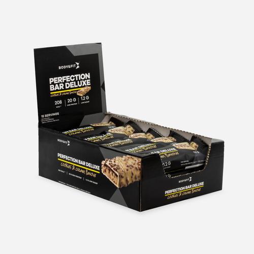 Perfection Bar Deluxe - Body & Fit - Cookies & Cream - 825 Gram (15 Bars)