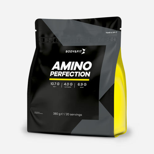 Amino Perfection - Body & Fit - Citron - 380 Gram (20 Doser)