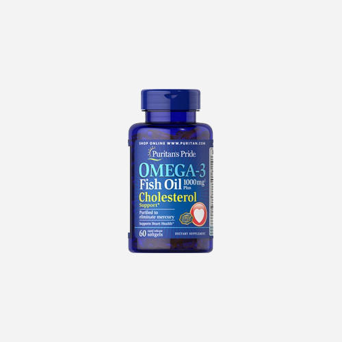 Omega-3 Visolie Plus Cholesterol Support