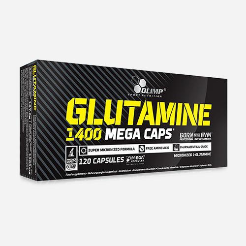 Glutamine Mega Caps 1400 - Olimp Supplements - 120 Kapslar