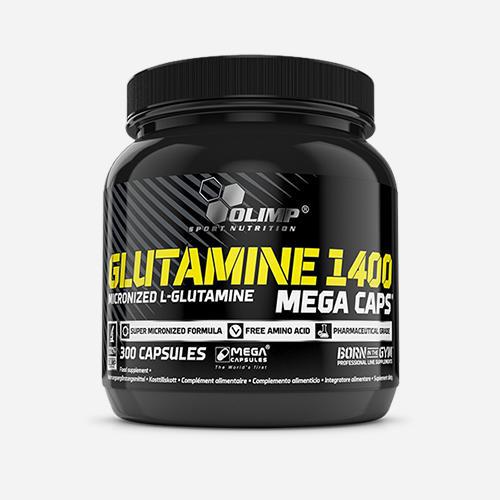 Glutamine Mega Caps 1400 - Olimp Supplements - 300 Kapslar