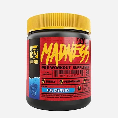 Mutant Madness - Mutant - Blå Hallon - 225 Gram (30 Doser)