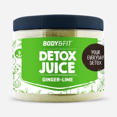 Detox Juice – 45 dagars förpackning – ingefära/lime - Body & Fit - Ingefära Lime - 135 Gram