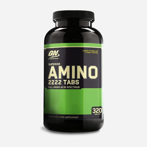 Amino Superior 2222 - Optimum Nutrition - Bäst Före 30-09-2021 - 320 Tabletter