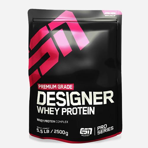 Designer Whey Protein - ESN - Jordgubb - 1000 Gram (33 Shakes)
