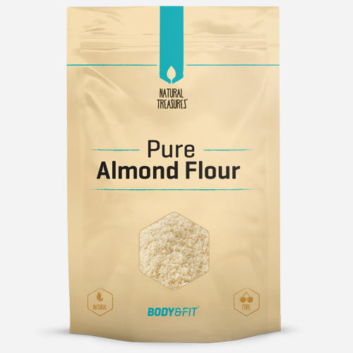 Pure Almond Flour - Body & Fit - Brun (bäst Före 14-07-2021) - 500 Gram