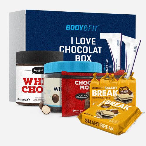 I Love Chocolate Box