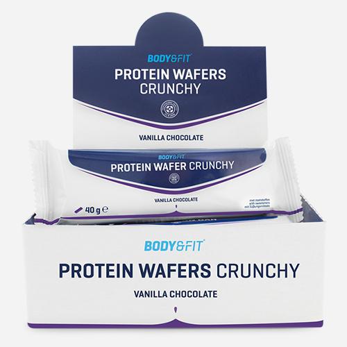 Crunchy Proteinwaffeln