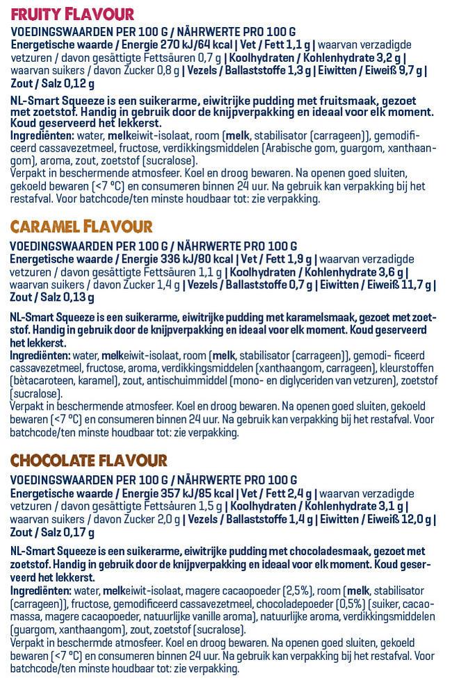 Smart Squeeze Nutritional Information 1