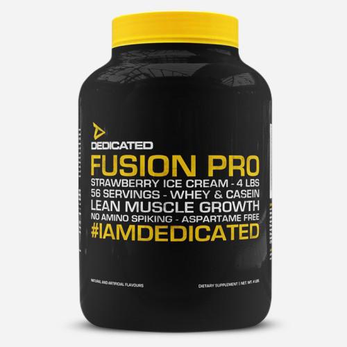Fusion Pro - Dedicated Nutrition - Chokladglass - 1814 Gram (56 Shakes)