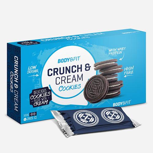 Crunch & Cream Cookies