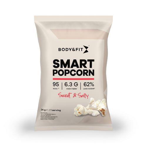 Smart Popcorn - Body & Fit - Sött Och Salt - 24 Gram (1 Påsar)