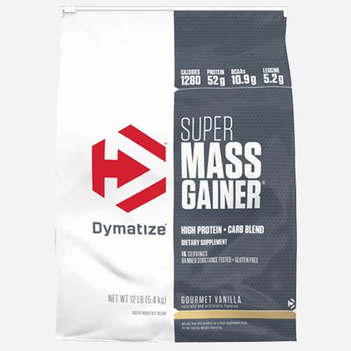 Super Mass Gainer - Dymatize - Fyllig Chokladsmak - 5232 Gram (16 Shakes)