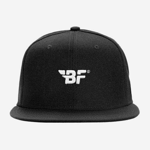 Snapback Cap Black