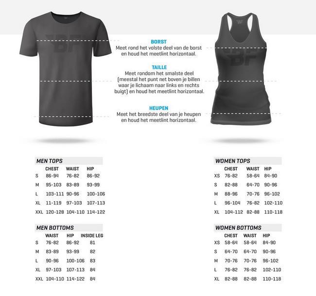 Nova Ladies Sweat Black Nutritional Information 1