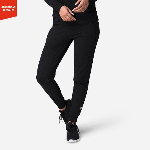 Pantalon en sweat Lucy pour dames Noir