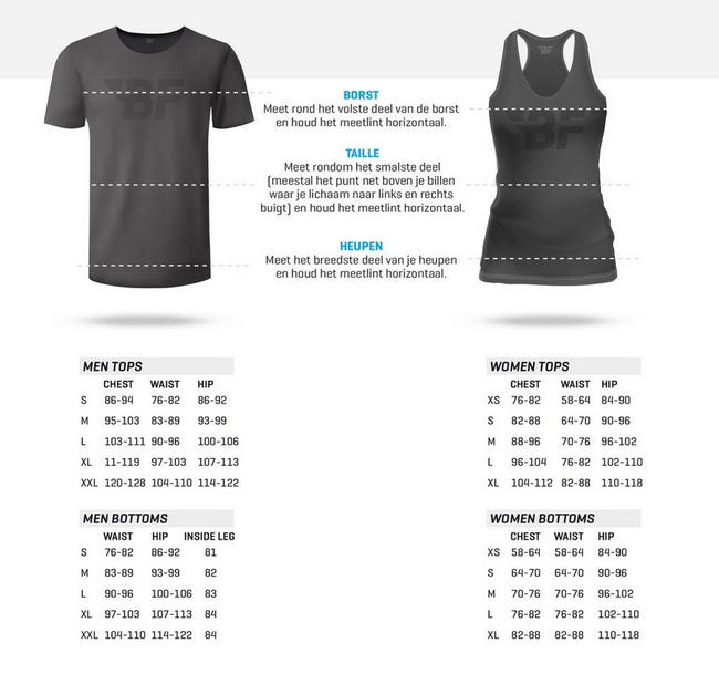 Nova Ladies Sweat Anthracite Nutritional Information 1