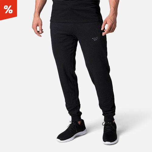 Wes Men's Sweat Pants Black