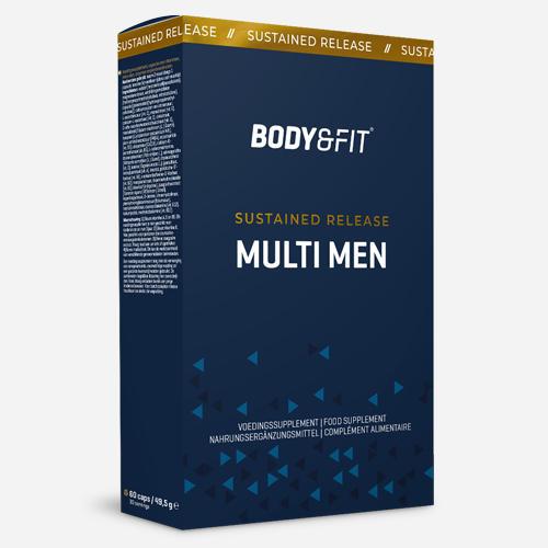 Sustained Release Multi Men - Body & Fit - 60 Kapslar (30 Doser)