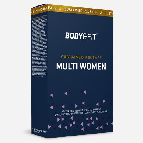 Sustained Release Multi Women - Body & Fit - 60 Kapslar (30 Doser)
